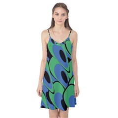 Peacock pattern Camis Nightgown