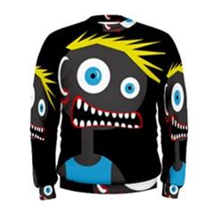Crazy man Men s Sweatshirt