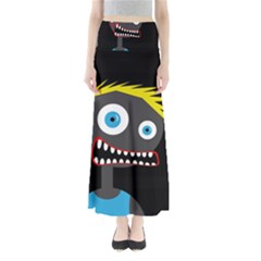 Crazy man Maxi Skirts