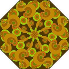 Brown pattern Hook Handle Umbrellas (Large)