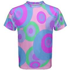 Pink pattern Men s Cotton Tee