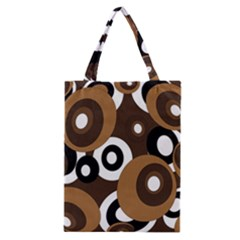 Brown pattern Classic Tote Bag