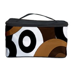 Brown pattern Cosmetic Storage Case