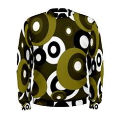 Green pattern Men s Sweatshirt