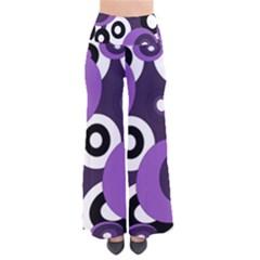 Purple Pattern Pants