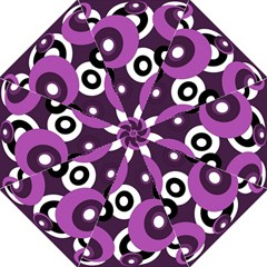 Purple pattern Folding Umbrellas