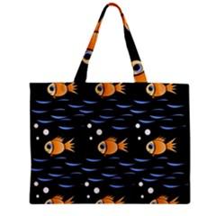 Fish pattern Mini Tote Bag