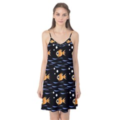 Fish pattern Camis Nightgown