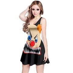 Evil clown Reversible Sleeveless Dress