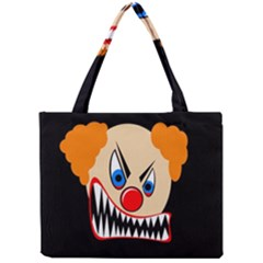 Evil clown Mini Tote Bag