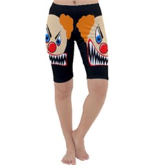 Evil clown Cropped Leggings