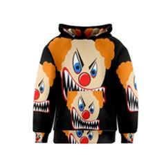 Evil clown Kids  Pullover Hoodie