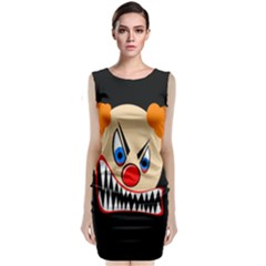Evil Clown Classic Sleeveless Midi Dress