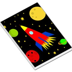 Spaceship Large Memo Pads