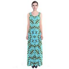 Fake Sky Night Sleeveless Maxi Dress