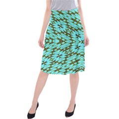 Fake Sky Night Midi Beach Skirt