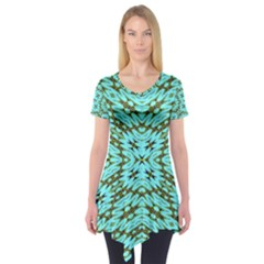 FAKE SKY NIGHT Short Sleeve Tunic