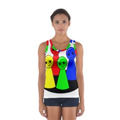 Don t get angry Women s Sport Tank Top