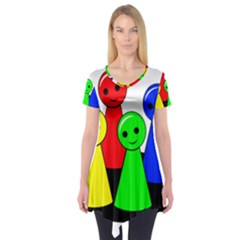 Don t get angry Short Sleeve Tunic