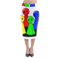 Don t get angry Midi Pencil Skirt
