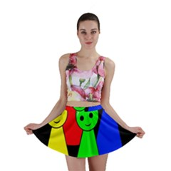 Don t get angry Mini Skirt