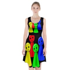 Don t get angry Racerback Midi Dress