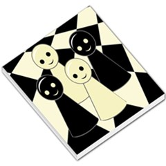 Chess pieces Small Memo Pads