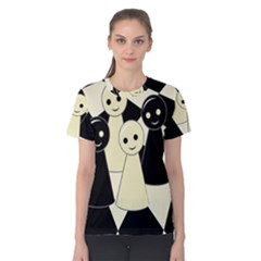 Chess pieces Women s Cotton Tee
