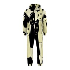 Chess pieces Hooded Jumpsuit (Kids)