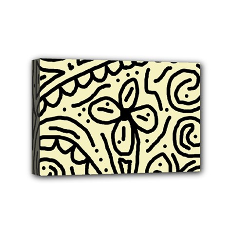 Artistic abstraction Mini Canvas 6  x 4