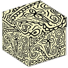 Artistic abstraction Storage Stool 12