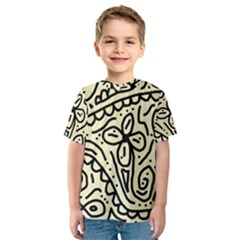 Artistic abstraction Kid s Sport Mesh Tee
