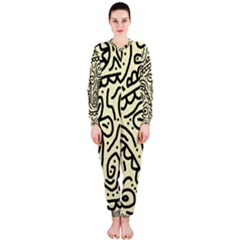 Artistic abstraction OnePiece Jumpsuit (Ladies)