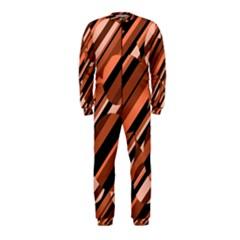 Orange pattern OnePiece Jumpsuit (Kids)