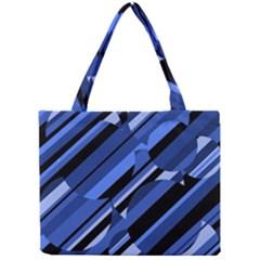 Blue pattern Mini Tote Bag