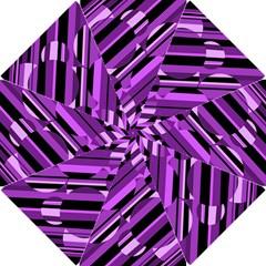 Purple pattern Hook Handle Umbrellas (Small)