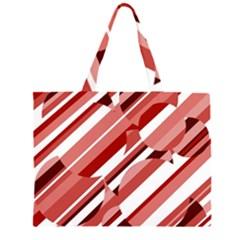 Orange pattern Large Tote Bag