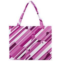 Magenta pattern Mini Tote Bag