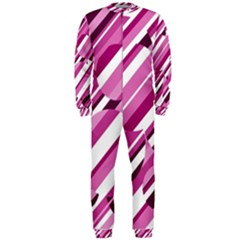 Magenta pattern OnePiece Jumpsuit (Men)