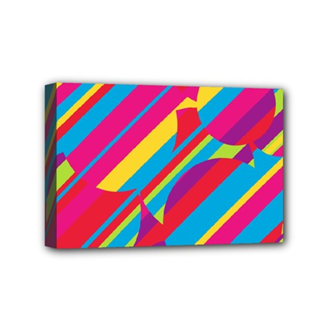 Colorful summer pattern Mini Canvas 6  x 4
