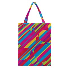 Colorful summer pattern Classic Tote Bag
