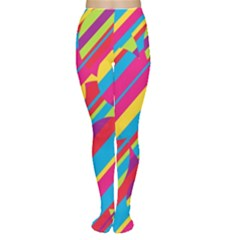 Colorful summer pattern Women s Tights