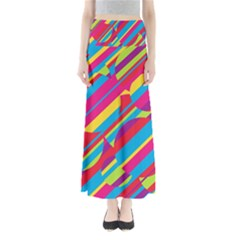 Colorful summer pattern Maxi Skirts