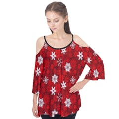 WH0 FLAKES Flutter Sleeve Tee