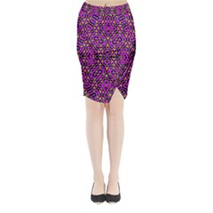Fox Midi Wrap Pencil Skirt