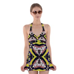 I Love ThisHH Halter Swimsuit Dress