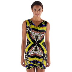 I Love Thishh Wrap Front Bodycon Dress