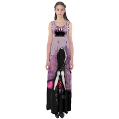 Make You Dirty Empire Waist Maxi Dress