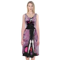 Make You Dirty Midi Sleeveless Dress