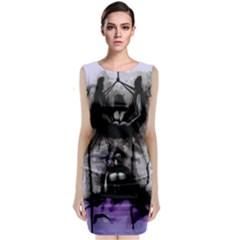 Suspension Classic Sleeveless Midi Dress